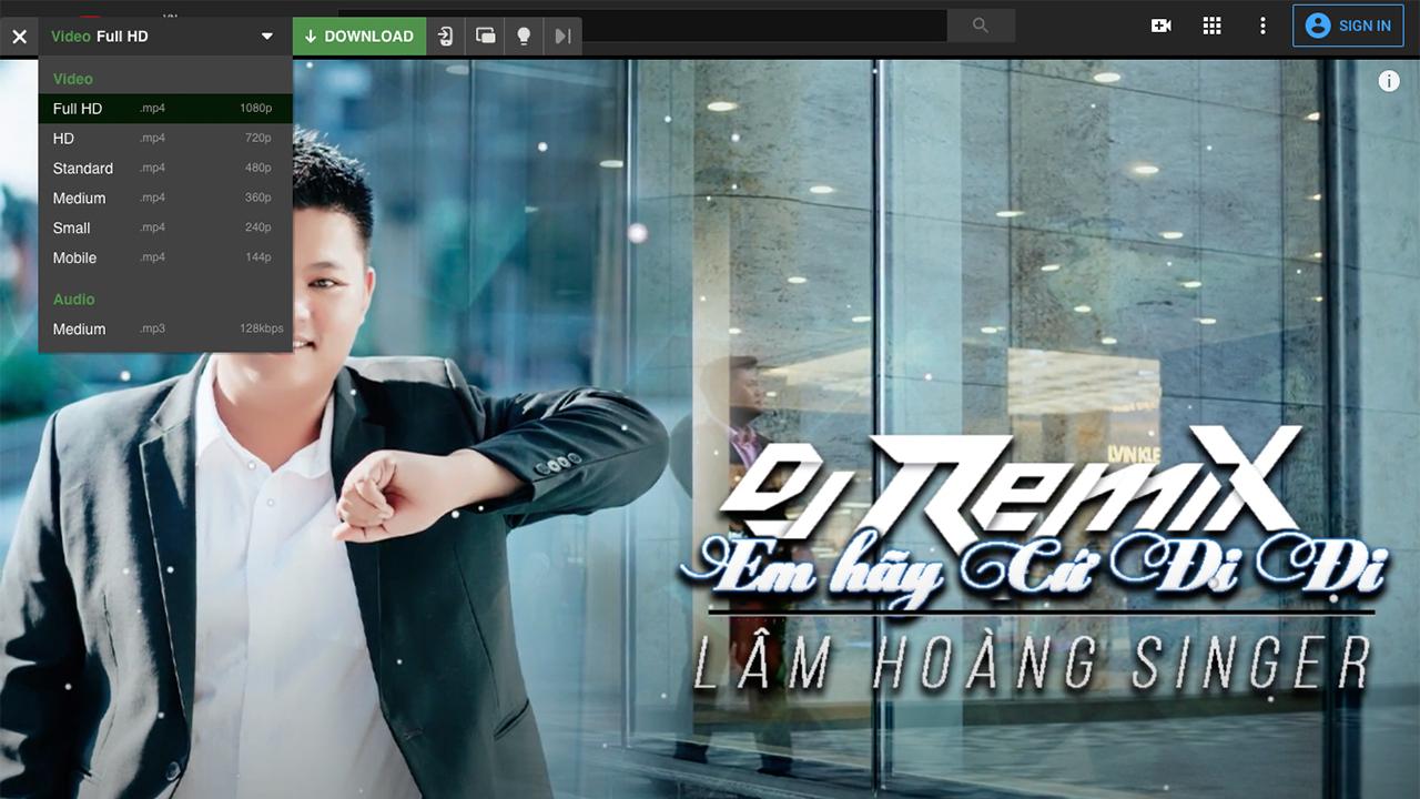 Cách download video youtube full hd chất lượng cao 1080p trên Youtube-Lâm Hoàng Ads